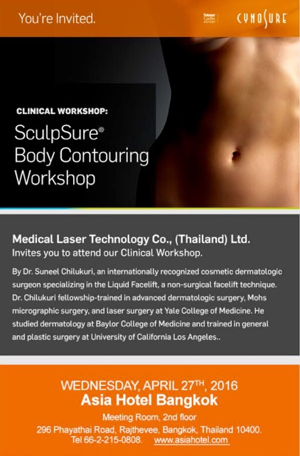 Sculpsure Workshop | Dr. Suneel Chilukuri