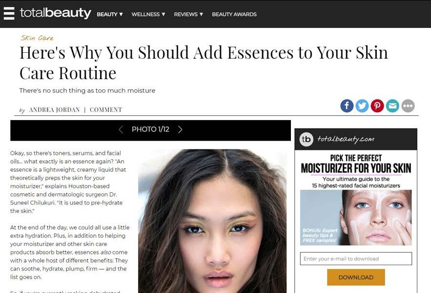 Houston Cosmetic Dermatology | Dr  Suneel Chilukuri | Refresh